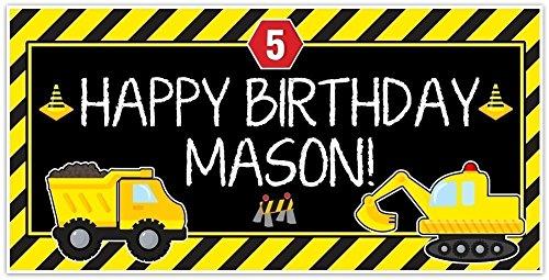 Under-Construction-Dump-Truck-Party-Zone-Birthday-Banner-Custom-Decoration-0