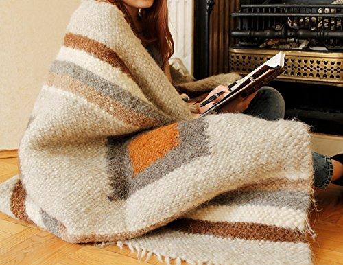 Warm-Throw-Blanket-Brown-Gray-Plaid-Indoor-Outdoor-Throw-Handmade-Sofa-Blanket-Throw-for-Sofa-0