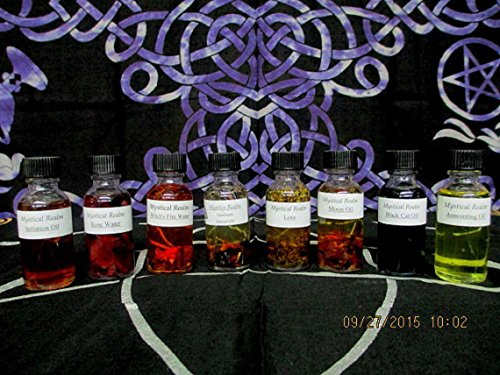 Witchs-Potion-Set-8-pc-Potion-Set-Witchcraft-Potion-Set-Basic-Witchs-Potions-Potion-Starter-Kit-Witchcraft-Supply-Witchcraft-0