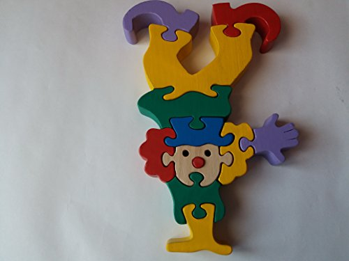Wooden-puzzle-clown-handmade-circus-clown-toy-gift-for-children-massive-beech-wood-toy-funny-men-0