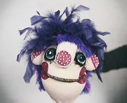Yoyo-hand-puppet-muppet-original-custom-made-doll-0