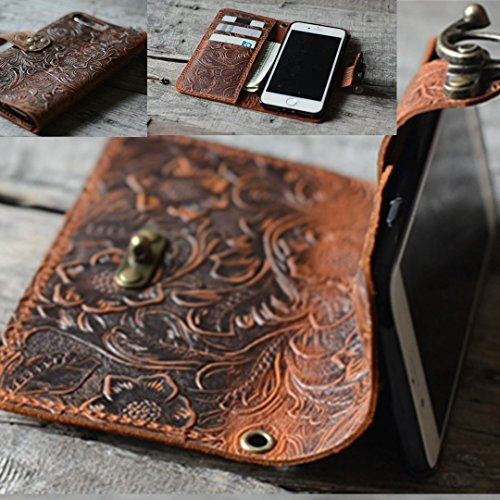 handmade-Genuine-leather-wallet-case-FOR-iphone-6s-plus-55-inch-leather-case-for-iphone-6-plus-with-wristlet-old-brown-case-Italian-with-Stand-0-1