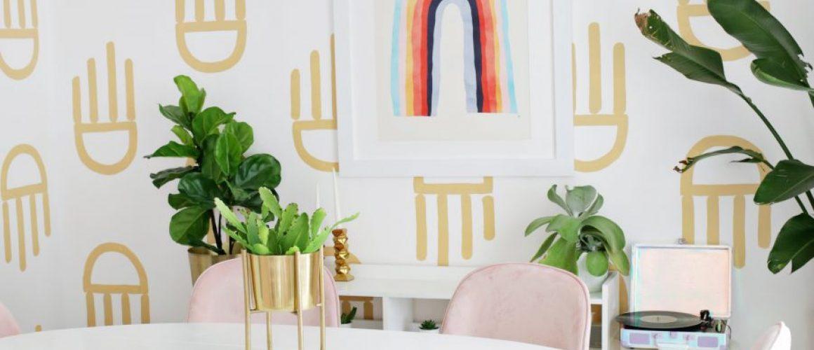 Geometric-Painted-Wallpaper-DIY-click-through-for-tutorial-1-3