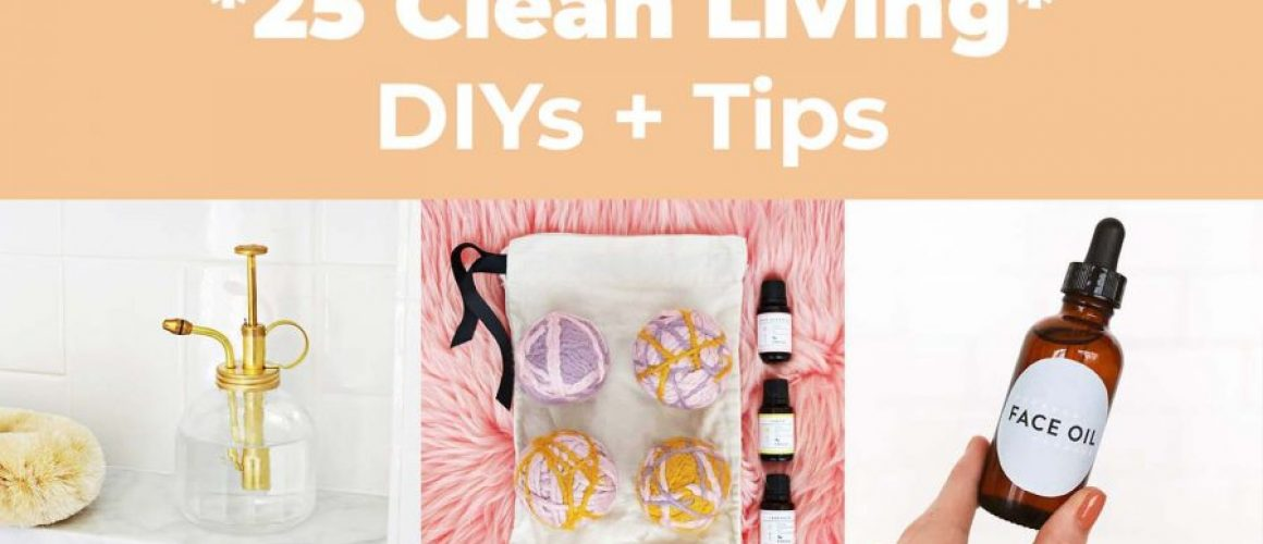 25-Clean-living-diys-and-tips