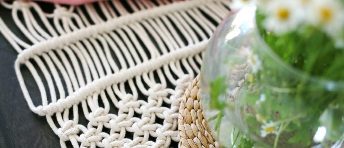 Make-your-own-macrame-table-runner-with-this-simple-tutorial-on-A-Beautiful-Mess