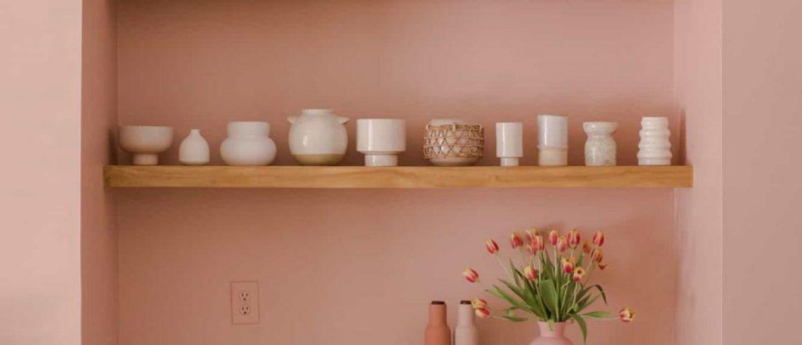 Pink-arch-buffet-