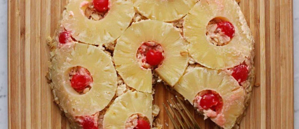 pineapple-upside-down-baked-oatmeal